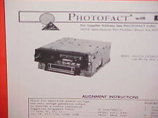 1972 CHRYSLER IMPERIAL NEW YORKER 8-TRACK/AM-FM-MPLX RADIO SERVICE SHOP MANUAL