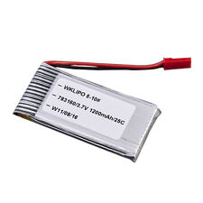 New 3.7V 1200mAh 25C Lipo Battery for Walkera WKLIPO-5#10 5G4Q3 SYMA S006 Pretty