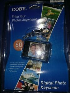 Digital photo album with keychain