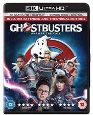Ghostbusters - Answer The Call 4k Ultra HD Blu Ray- SUPERB 2 DISCS-4X SHARPER DV
