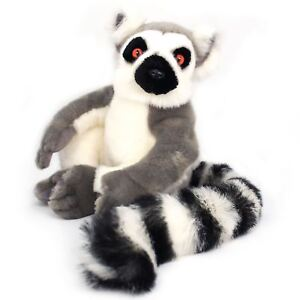 Ringo the Ring-tailed Lemur | 21 Inch (Including Tail!) Plush | Tiger Tale Toys