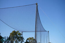 Backyard Cricket Practice Training Cage Net 100*10 Feet Blue Nylon Pack Of 2