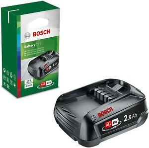 Bosch Akku PBA 18 V 2.5 Ah LI-Ion (18 Volt System, 2.5 Ah Akku, im Karton)