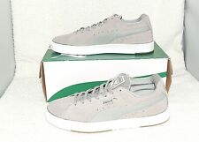 Puma Suede S Modern Tech Drizzle Gray White athletic sneaker shoe Size 6 CCTC12