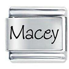 MACEY Nome - Daisy Charm da JSC Fits Classic Size Italian Braccialetto Ciondoli