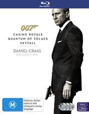 Daniel Craig (Blu-ray, 2013, 3-Disc Set)