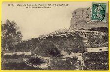 cpa 06 - SAINT JEANNET Alpes Maritimes) Le BAOU Ligne de CHEMIN de FER du SUD