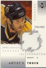 UD Artistic Impressions Joe Thornton Artist's Touch Game-Worn Jersey 230/499