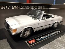 1:18 Mercedes-Benz 350 SL White Sun Star BNIB