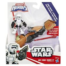 Disney Star Wars Galactic Heroes Scout Trooper Figure and Speeder Bike