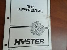 Hyster The Differential 910072 1400 SRM 46