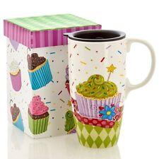 Cupcake Travel Mug w/ Decorative Box by Cypress Refresh