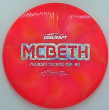New Discraft Tour Series Paul Mcbeth Z Luna *Sunset* 173-174g
