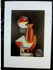 France Art Jean Helion Famous modernist Painting POSTCARD red face Hélion