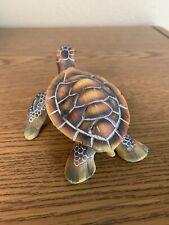 Sea Turtle Textured Figurine