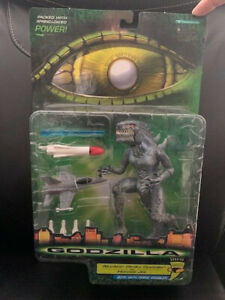 GODZILLA NUCLEAR STRIKE VS HORNET JET ACTION FIGURE TRENDMASTERS       VERY RARE