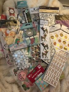 HUGE LOT OF OVER 1,700 NEW STICKERS CHRISTMAS FOOTBALL VALENTINES BEACH LETTERS