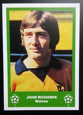 WOLVES - JOHN RICHARDS - VINTAGE BIRTHDAY 'FOOTBALL CARD' / GIFT TAG