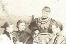 1894  Decorah Iowa: Zickla Rudolph Inger Schmitz Hanson Ladies Tea Party Social
