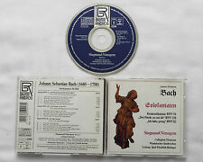 BACH / NIMSGERN Cantatas BWV 56/82/158 GERMANY 1st press CD BAYER Rds(1991) Mint