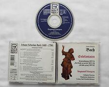 BACH / NIMSGERN Cantatas BWV 56/82/158 GERMANY 1st press CD BAYER Rds(1991) Mint