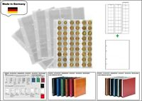 1 LOOK 1-7394-W Münzhüllen PREMIUM 54 Fächer Für Münzen bis 20 mm + weiße ZWL
