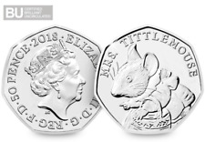 2018 UK Mrs Tittlemouse CERTIFIED BU 50p [Ref: 772R]