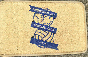 Coir Doormat.Birmingham City.AFC.Rubber Backed DeLuxe  Quality