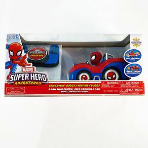 Marvel Spider Man Remote Control Super Hero Adventures Buggy