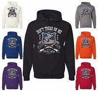 Don't Tread On Me Sweatshirt Defend Liberty 1776 Patriotic Hoodie Gadsden Flag