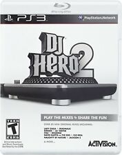 DJ Hero 2 (PlayStation 3, Activision) Rhythm Music *game only* PS3 - New/Sealed