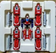 Bandai MRR Machine Robo #01 Rescue Red Wing Jet Transformable action figure