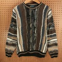 vtg 80s 90s FLORENCE TRICOT sweater MEDIUM mercerized cotton biggie cosby coogi