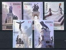 Romania 2018 MNH Monuments of National Heroes 5v Set Architecture Stamps