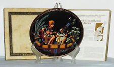 New The Legend Of Tutankhamun and his Princess Collection Osiris Porcelain Plate