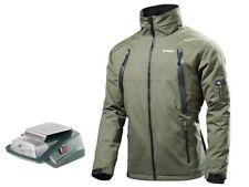 Abrigos y chaquetas de hombre verde 100% algodón