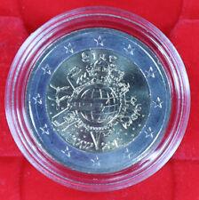 2 Euro IRLAND 2012 10 Jahre Euro-Bargeld bankfrisch UNC in Kapsel