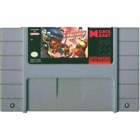 Fighter's History - Super Nintendo SNES Game Authentic