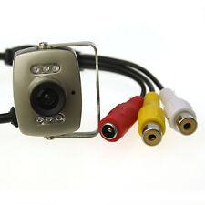 Mini Inalámbrico Pequeño redes cámara de vídeo Audio Color Seguridad Video PAL/