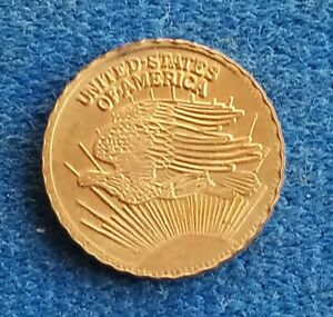 Pièce OR mini Liberty et aigle USA