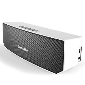 Bluedio BS-3 Mini Speaker Bluetooth Speaker Wireless 3D Stereo MP3 White
