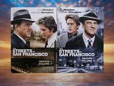 Streets of San Francisco TV Season 1 Volume 1 and 2 Very Good Condition