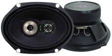"""Lanzar VX683 Car Audio Standard 6""""X8"""" W/ Grills Wire & Installation Hardware"""