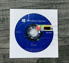 Microsoft Windows Server 2012 R2 Standard 64 bit DVD + COA Product Key +Hardware