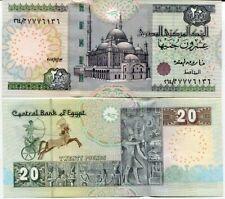 EGYPT 20 POUNDS 2012 P 65 GEM UNC