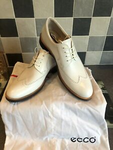 Ecco New World Class White Size 45 Uk 11 Golf Shoes.
