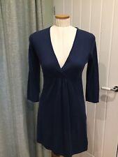 Boden Long navy jumper Dress size 10, 100% wool