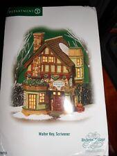 DEPT 56 DICKENS' Village WALTER KEY, SCRIVENER NIB *Still Sealed*
