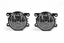 Jaguar S Type 99-07 Front Fog Lights Lamps Pair Set With Bulbs OEM Valeo