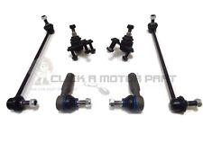 SKODA OCTAVIA MK2 FRONT 2 BALL JOINTS 2 ANTI ROLL BAR LINK 2 OUTER TRACK ROD END